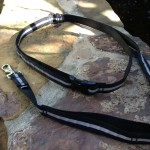 SPORT Reflective Hands-Free Leash in Black